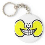 Infinite smile Shape  keychains
