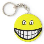 Tiny eyed smile   keychains