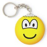 Monk emoticon   keychains