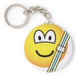 Engineer emoticon   keychains