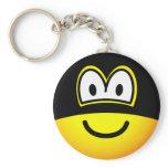 Masked emoticon   keychains