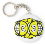 Wrestling smile Olympic sport  keychains