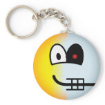 Terminator emoticon   keychains