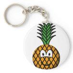 Pineapple emoticon   keychains