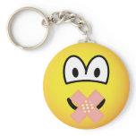 Silent emoticon   keychains