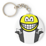 Gunslinger smile   keychains