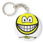Ring bearer smile   keychains