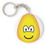 Egg emoticon   keychains