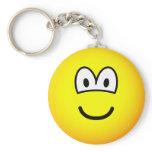 Swollen emoticon   keychains