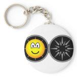 Iron maiden emoticon   keychains