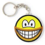 Goatee smile   keychains