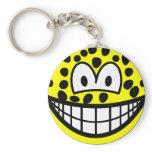 Leopard smile   keychains