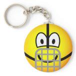 Muzzle emoticon   keychains
