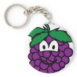 Grapes emoticon   keychains