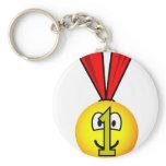 Medal emoticon   keychains