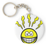 Headache smile   keychains