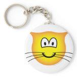 Cat emoticon   keychains