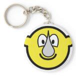 Rhino buddy icon   keychains