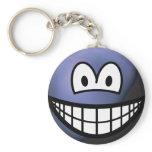 Pluto smile   keychains