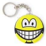 Hamster smile   keychains
