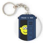 Dr Who buddy icon Tardis  keychains