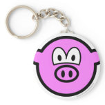 Pig buddy icon   keychains