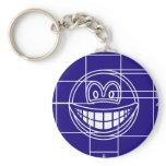 Blueprint smile   keychains