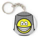 Thimble smile   keychains