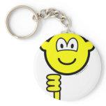 Thumb down buddy icon   keychains