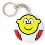 Mittens buddy icon   keychains