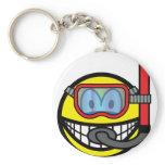 Snorkel smile   keychains