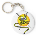 Ball of wool emoticon   keychains