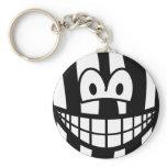 Zebra smile   keychains
