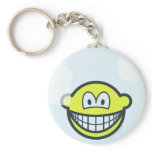 Smile living in a bubble   keychains
