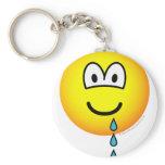 Drool emoticon   keychains