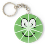 Lime emoticon   keychains