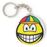 Propeller cap smile   keychains