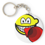 Megaphone smile old  keychains