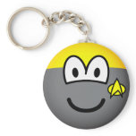 Star trek emoticon   keychains