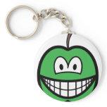 Apple smile   keychains
