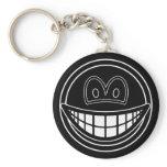 Black hole smile   keychains