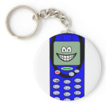 Mobile phone smile   keychains