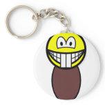 Beaver smile   keychains