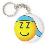 Sleeping cap emoticon   keychains