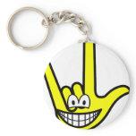 I love you smile   keychains