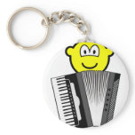 Accordion playing buddy icon   keychains