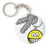 Key ring chain smile   keychains
