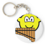 Panflute buddy icon   keychains