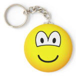 Giant emoticon   keychains