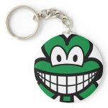 Clover smile   keychains